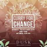 DUSK Brentwood Supports Curry for Change!